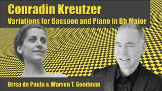 Conradin Kreutzer - Variations for Bassoon and Piano in Bb Major