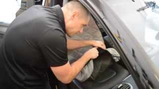 4Knines Front Bucket Seat Cover Installation Video