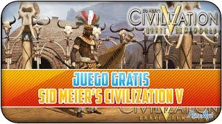 JUEGO GRATIS - CIVILIZATION V - POR UN TIEMPO LIMITADO!