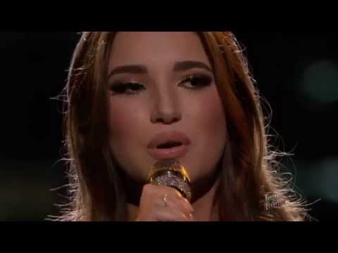 The Voice American 2015 - Playoff -  Deanna Johnson - Down to the River to Pray  - Top The Voices