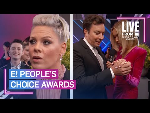 Best E! PCAs Red Carpet Moments | E! People's Choice Awards