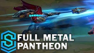 Full Metal Pantheon Skin Spotlight - Pre-Release - League of Legends