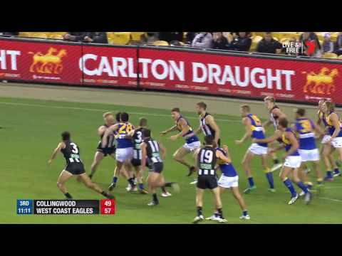 Highlights: Collingwood v West Coast
