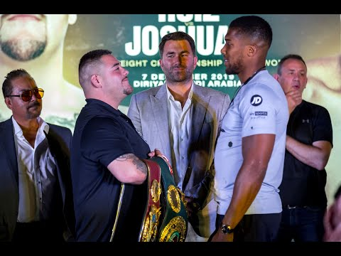 Andy Ruiz vs Anthony Joshua 2, Clash On The Dunes Saudi Arabia Press Conference