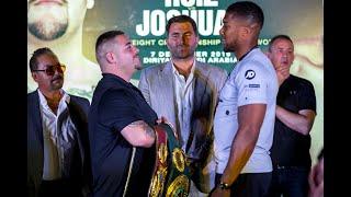 Andy Ruiz vs Anthony Joshua 2, Clash On The Dunes Saudi Arabia Press Conference