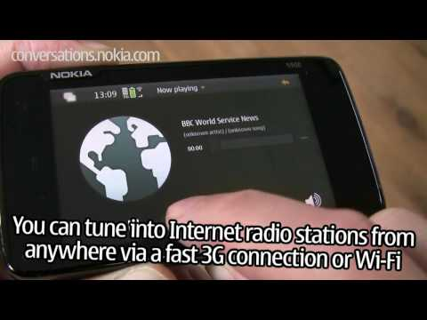N900: Music player and Internet radio