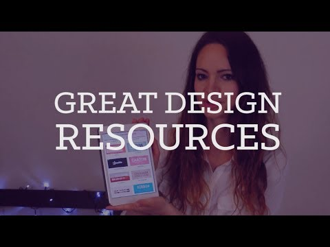 Top design resources | CharliMarieTV
