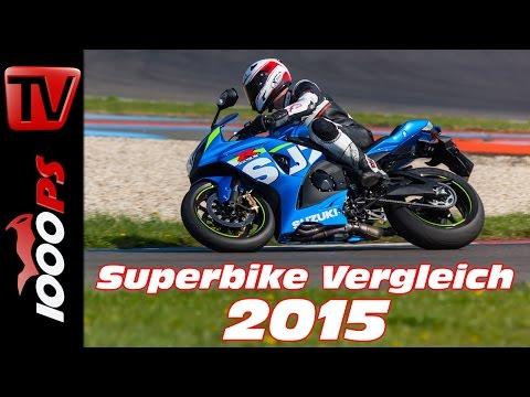 Suzuki GSX-R 1000 Test 2015 - 1000cc Vergleich | Bestes Superbike?