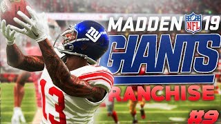 Celebrating Too Early! Madden 19 New York Giants Franchise Ep. 9