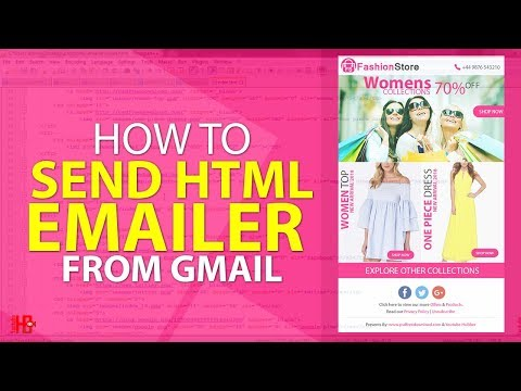How To Send Html Emailer From Gmail