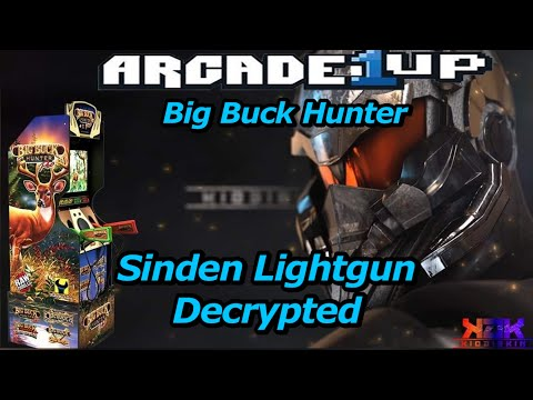 Arcade 1Up Big Buck Hunter Is In the Wild | Sinden Lightgun Decrypted from Kio ÐÎÊKÎÑ