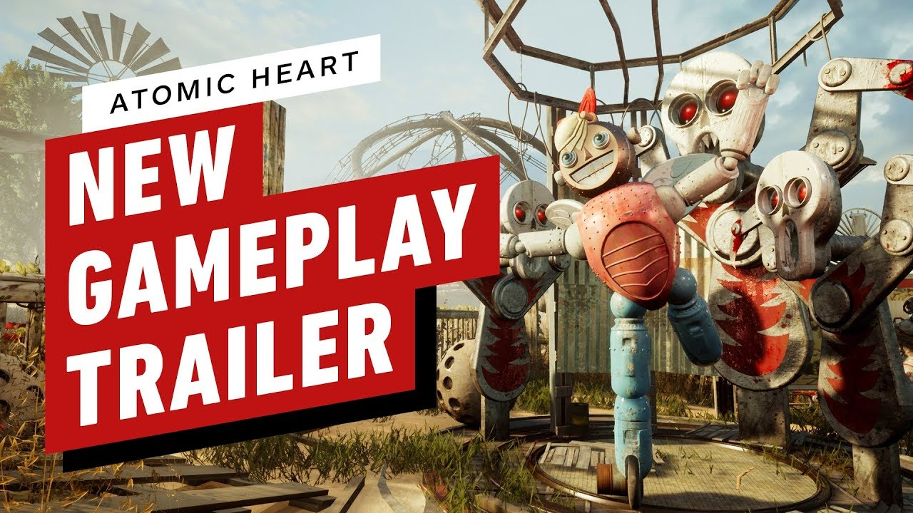 Atomic Heart: New 10-Minute Gameplay Trailer