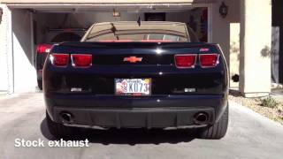 2012 Camaro SS with Flowmaster American Thunder Axle Back Exhaust
