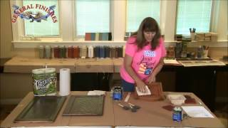 How to Use Gel Stain Preparation General Finishes