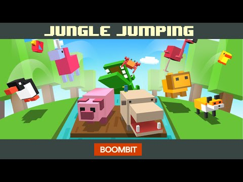 JUNGLE JUMPING by BoomBit Games | iOS App (iPhone, iPad) | Android Video Gameplay‬
