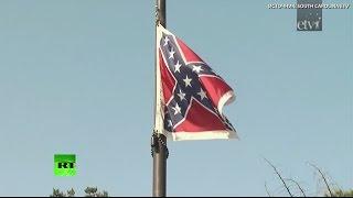 В южных штатах США продолжается борьба против флага Конфедерации