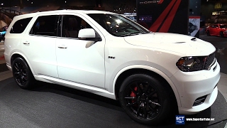 2018 Dodge Durango SRT 475HP SUV - Exterior Interior Walkaround - Debut at 2017 Chicago Auto Show