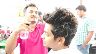 Men's haircut Indian Style - Indian undercut hairstyle