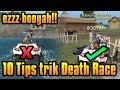 Cara Jadi Kaleng Sejati! 10 Tips Trik Booyah Death Race Free Fire Battlegrounds Indonesia HD