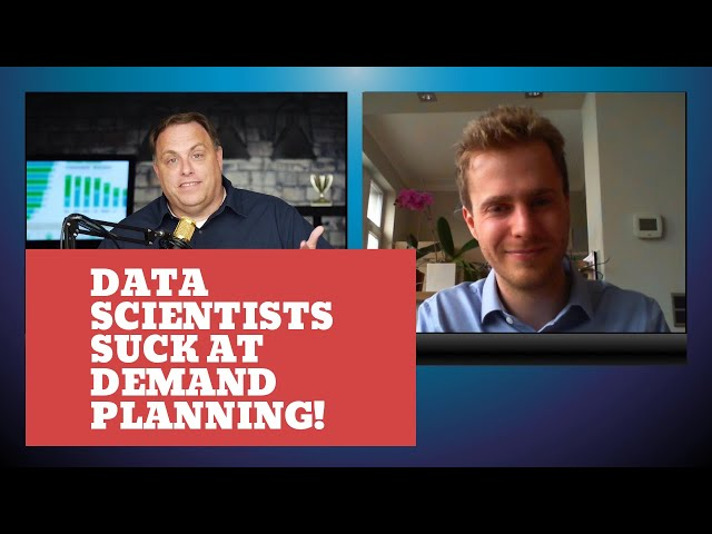 Data Scientists Suck At Demand Planning! | Interview With Author Nicolas Vandeput