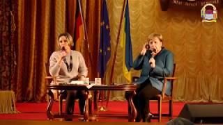 Візит канцлера Німеччини Ангели Меркель в  КНУ