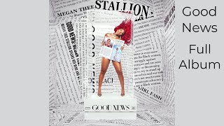 Megan Thee Stallion - Good News [FULL ALBUM] [with seamless transitions]