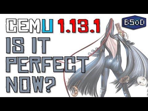 Cemu 1.13.1 | Is Bayonetta 2 Now Playable?