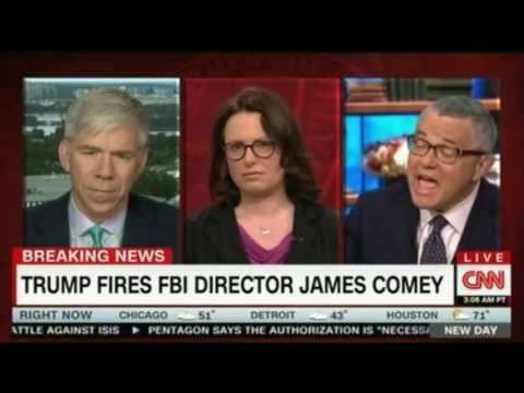 CNN New Day Chris Cuomo panel discussion on Trump firing FBI James Comey