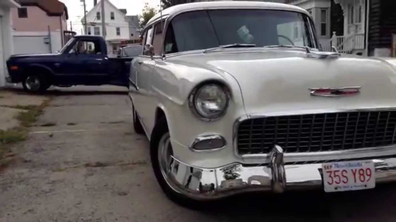 1955 chevrolet handyman 2 door wagon street rod - 1955 Chevrolet Handyman 2 Door Wagon Street Rod 50