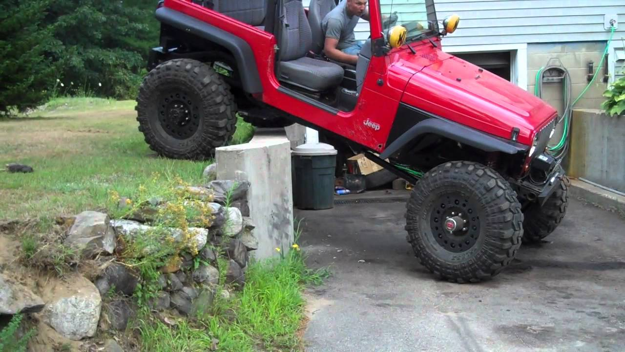 Jeep Wrangler Tj Build >> Rock Crawler Finished. Testin It - YouTube