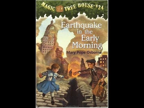 Annie-Magic Tree House #24 Earthquake in the Early Morning