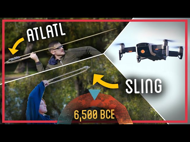 Building Primitive Atlatl and Sling from Scratch