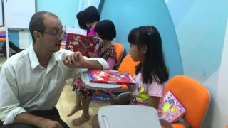 Lớp học Tiếng Anh giao tiếp với người nước ngoài cho trẻ em ( Phần 3 )