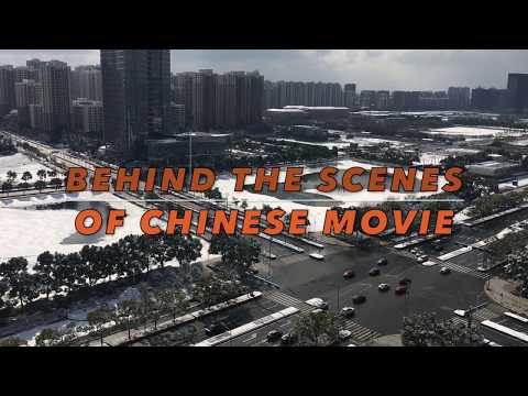 Behind the scenes of Chinese Movie !!!
