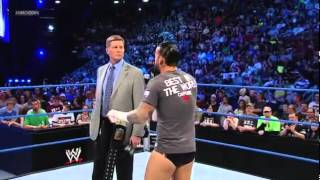 WWE Smackdown 5/18/12 - CM Punk and John Laurinaitis Segment