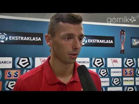 Mateusz Wieteska o meczu z Cracovią