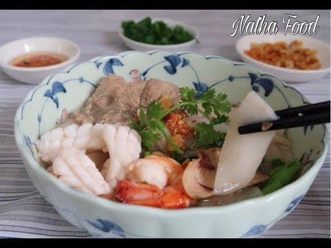 Bánh phồng tôm nấu súp, cách nấu nước súp nui, hủ tiếu nhanh gọn tại nhà    Natha Food