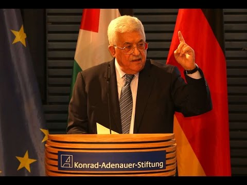 Die Zukunft der Zweistaatenlösung - Rede von Mahmud Abbas