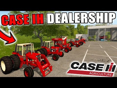 CASE IH DEALERSHIP | SHOWROOM | HARVESTERS + TRACTORS | FARMING SIMULATOR 2017