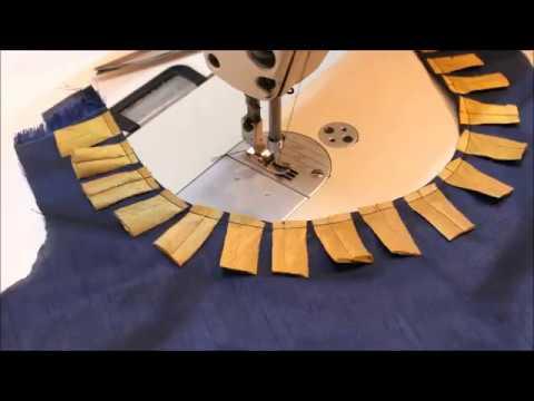 Kurta Fancy Neckline & Salwar Cutting And Stitching (DIY)