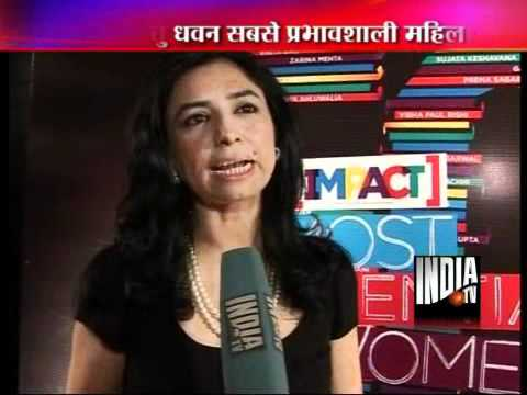 India TV CEO Ritu Dhawan Gets IMPACT Most Influential ...