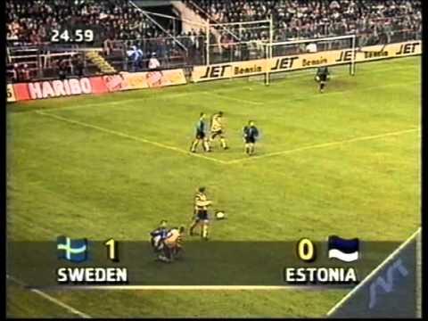 Sweden 1:0 Estonia 1997 (re upload)
