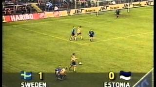 Sweden 1:0 Estonia 1997 (re upload)