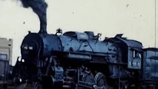 Illinois Central Railroad Steam Locomotives In Action