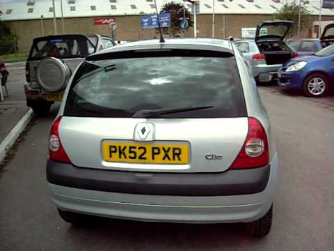 renault clio 1 5 dci 65 extreme youtube. Black Bedroom Furniture Sets. Home Design Ideas