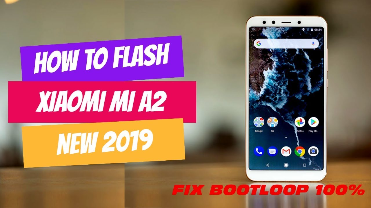 FIX BOOTLOOP MI A2 JASMINE (Cara Flash Xiaomi Mi A2 Jasmine) 100% berhasil