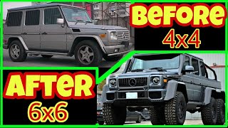 Mercedes Benz G Class 6x6 homemade - building a homemade  6x6 in 10 minutes