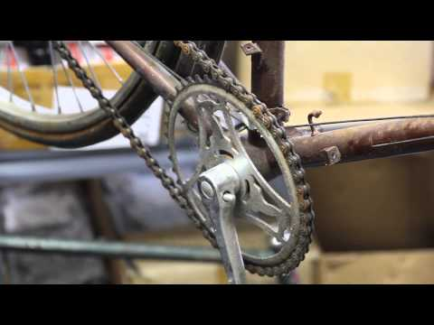 Cottered Crank Removal - Old Raleigh - BikemanforU Tutorial