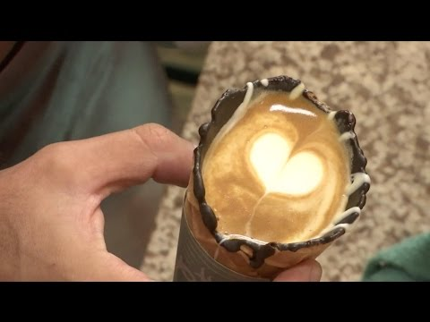 South African Coffee Cone Becomes Worldwide Hit
