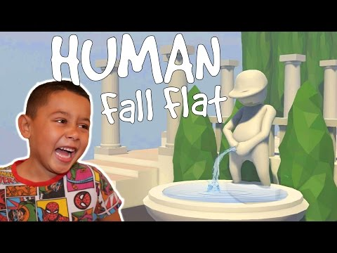TEAM WORK IS THE KEY! | Human Fall Flat Gameplay PART 1